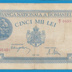 5000 lei 1944 2 Mai 2 - Bancnota romaneasca