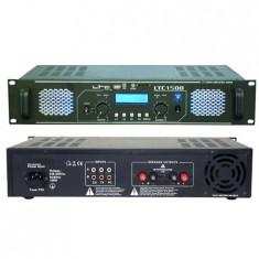 AMPLIFICATOR SPL 2X750W MAX/4OHM Electronic Technology - Amplificator audio Skytec, peste 200W