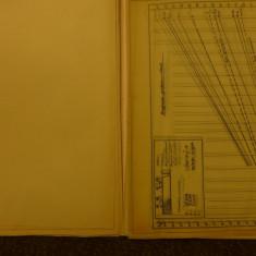 Studiu aerodinamic al locomotivelor tip 160 a SNCB - in creion - contine planse - Carte de colectie