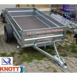 Remorca auto mono ax 750 kg 2.4 m x 1.35m x 0.4 m *in rate *pe stoc* - Utilitare auto