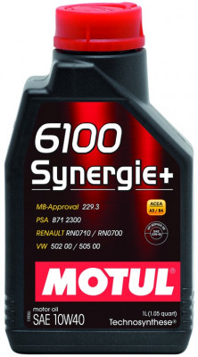 ULEI MOTOR 10W40 1L MOTUL 6100 SYNERGIE+ foto