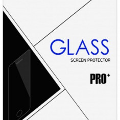 Folie Protectie ecran antisoc Samsung Galaxy J3 (2017) J330 Flexible Tempered Glass Full Cover alba Blister - Folie de protectie, Sticla