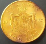 Moneda 500 Lei - ROMANIA, anul 1945  *cod 736 --- A. UNC
