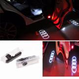 Proiectoare Holograma Led Logo Dedicate Audi -2 buc.- Accesorii Auto