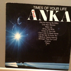 PAUL ANKA - TIMES OF YOUR LIFE (1975/UNITED ART./RFG) - Vinil/Analog/Impecabil - Muzica Pop universal records