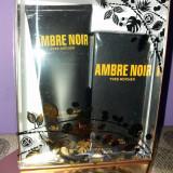 SET AMBRE Noir Yves Rocher in cutie festiva - Parfum barbati Yves Rocher, Apa de parfum, 100 ml
