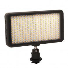 W228 Lampa foto-video cu 228 LED-uri si temperatura de culoare reglabila