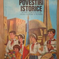 Povestiri istorice partea a treia 79pagini- Dumitru Almas - Carte educativa