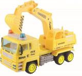 Camion cu excavator rotativ Super Power, Plastic, Baby Mix
