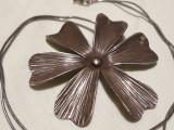 Medalion argint MARGARETA splendid MASIV opulent IMPUNATOR vintage + Lant argint