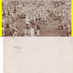 Vrancea, Focsani -WWI, WK1-militara, rara - Carte Postala Moldova 1904-1918, Necirculata, Printata