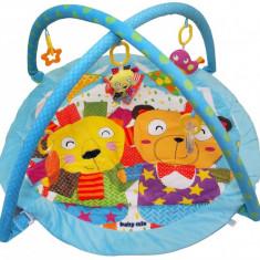 Saltea de joaca pentru copii Friendship - Tarc de joaca Baby Mix, Multicolor