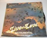 Disc vinyl , vinil Live and Love - instrumental