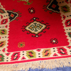 Scoarta (covor) tesuta manual, lana naturala - Covor vechi