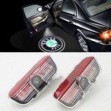 Set 2 Proiectoare Led Logo Dedicate SKODA Superb 7W