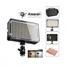 Aputure AL-H198C lampa foto-video cu 198 LED-uri CRI-95 si temperatura de culoare reglabila - Lampa Camera Video