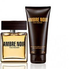 SET AMBRE Noir Yves Rocher - Parfum barbati Yves Rocher, Apa de parfum, 50 ml