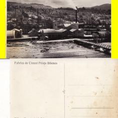 Comarnic (Prahova) - Fabrica de ciment Printul Bibescu - Carte Postala Muntenia 1904-1918, Necirculata, Printata