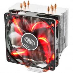 Cooler procesor Deepcool GAMMAXX 400 Red - Cooler PC