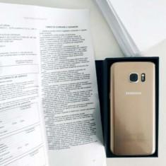 Samsung Galaxy S7 Gold - Factura si Garantie Orange - Telefon Samsung, Auriu, 32GB, Single SIM