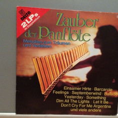 MAGIC OF PANFLUTE - DINU RADU - 2LP SET (1984/DELTA/RFG) - Vinil/Impecabil (M-) - Muzica Clasica universal records