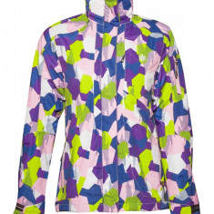 Jacheta de ski Ahkka, dama, cu gluga si hanorac detasabil, Multicolor