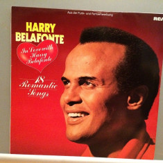 HARRY BELAFONTE - 18 ROMANTIC SONGS (1982/RCA Rec/Germany) - VINIL/Ca NOU (NM) - Muzica Pop rca records