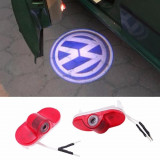 Proiectoare Holograma Led Logo Dedicate VW Golf 4, Bora, Touran, Polo