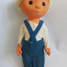 (T) Mos Ene Sandmännchen Sandman papusa veche, vintage, colectie, 28 cm