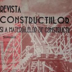 REVISTA CONSTRUCTIILOR SI A MATERIALELOR DE CONSTRUCTII XI