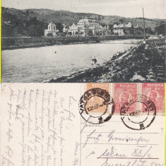 Vatra Dornei (Bucovina, Suceava)-rara - Carte Postala Bucovina 1904-1918, Circulata, Printata