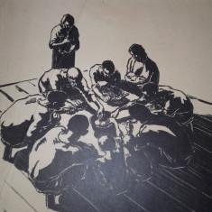 MARCEL CHIRNOAGA- LITOGRAFIE