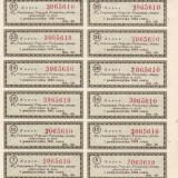 SV * Polonia COALA 12 x CUPON (KUPON) 1927-1928... 1940...1947-1948     AUNC