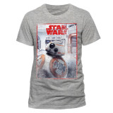 Tricou Star Wars - The Last Jedi BB8 Reveal - Tricou barbati, Marime: M