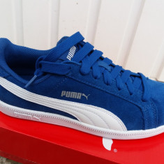 Puma Suede M - Nr.37, 38 - Anglia - Adidasi copii Puma, Culoare: Albastru, Unisex, Piele intoarsa