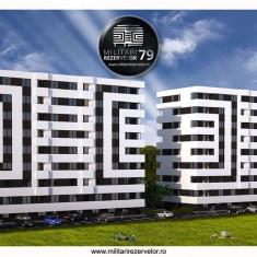 Apartament 3 camere, 51 mp, Militari Carrefour, Demisol