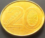 Moneda 20 Copeici - Republica BELARUS , anul 2009 *Cod 2863 UNC, Europa