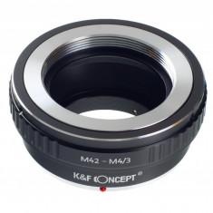 Kent Faith M42-M4/3 adaptor montura M42-Micro 4/3 (MFT) - Inel adaptor obiectiv foto