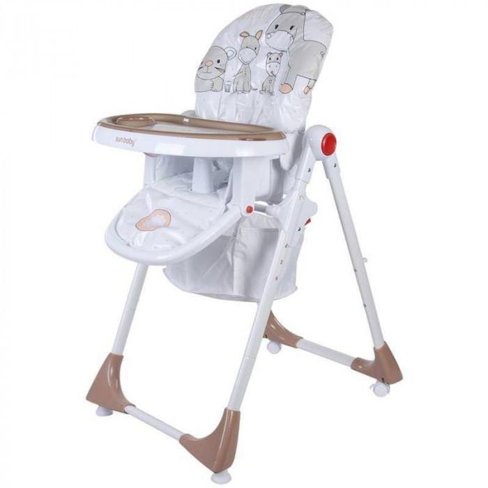 Scaun de masa Comfort Lux - Sun Baby - Maro foto mare