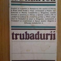 D4 Trubadurii - H. I.Marrou - Studiu literar