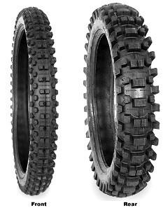 Motorcycle Tyres Kenda K771 Millville ( 2.50-10 TT 33J Standard, Soft, Front ) foto mare