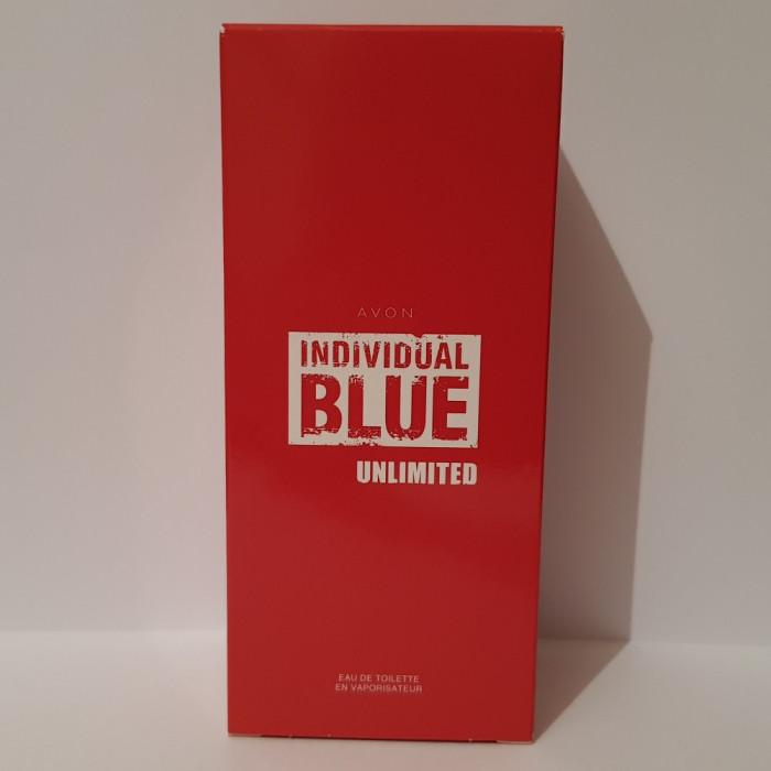 Apă de toaletă Individual Blue Unlimited (Avon)