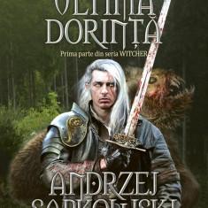 Witcher Ultima Dorinta de Andrzej Sapkowski - Carte de aventura, Nemira, An: 2016