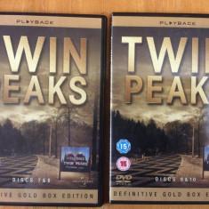 TWIN PEAKS - SEZONUL 2 : EPISOADELE 7, 8, 9 10 - FILM DVD ORIGINAL ( 2 DVD ) - Film Colectie Altele, Engleza