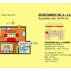 Apartament 2 camere Brasov, zona Tractorul - Apartament de vanzare, 47 mp, Numar camere: 2, An constructie: 2018, Parter