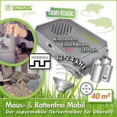 Aparat anti-rozatoare cu ultrasunete auto Marder-Frei Portabil 70624 - Aparat antidaunatori