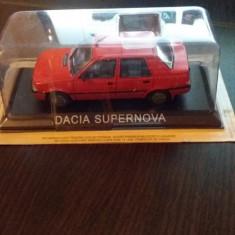 Macheta metal dacia supernova - deagostini romania. - Macheta auto, 1:43
