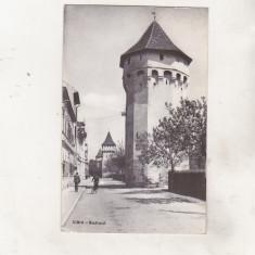 Bnk cp Sibiu - Bastionul - circulata - Carte Postala Transilvania dupa 1918, Printata