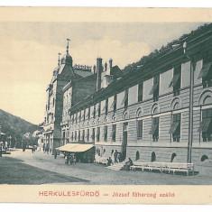 766 - Caras-Severin, BAILE HERCULANE - old postcard - unused - Carte Postala Banat 1904-1918, Necirculata, Printata