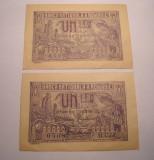 1 leu 1920 Serii Consecutive XF ++ Aunc